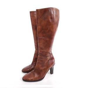 J.Crew Italian Leather High Heel Boots